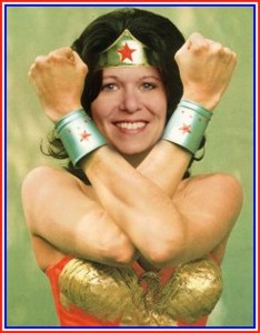 Robin Spang as Wonder Woman